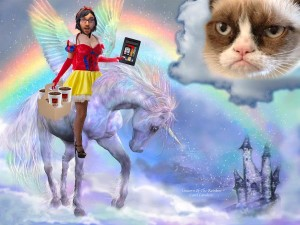 Magically Unicorn Snow White Dan