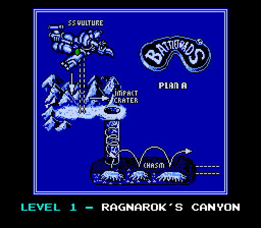 Battletoads: Level 1 - Ragnarok's Canyon