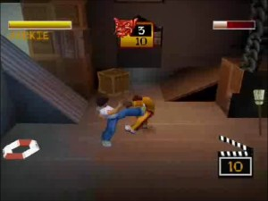 Screenshot from Jackie Chan: Stuntmaster on PS One