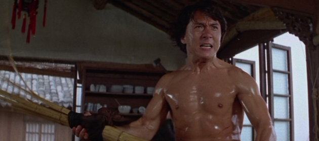 Slimy Jackie Chan in Drunken Master