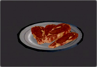 Deadly Premonition - Really, really rare beef
