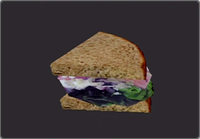 Deadly Premonition - WHY IS THAT MEAT PURPLE?!?