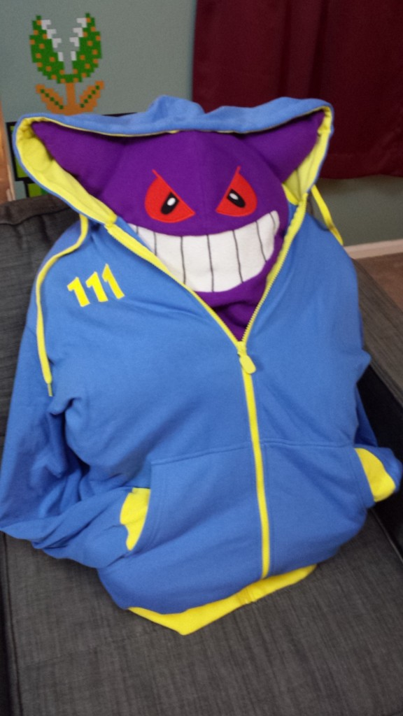 Fallout Hoodie Size 3XL Giveaway