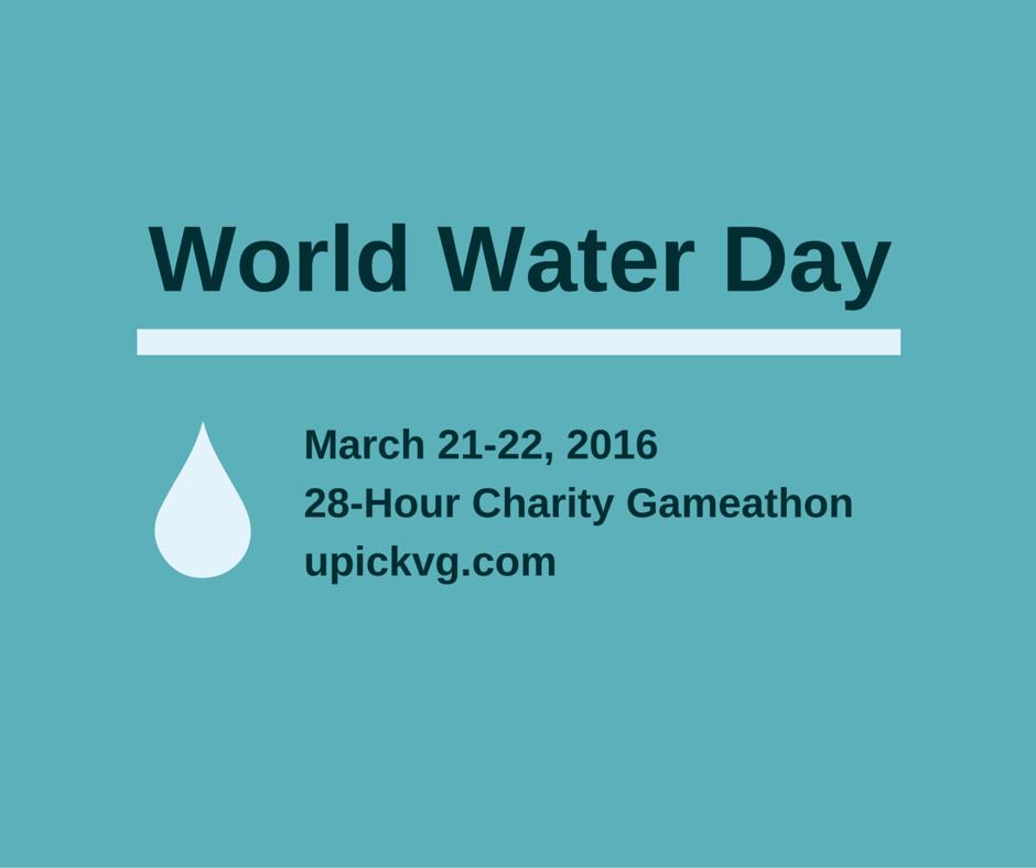 World Water Day Gameathon 2016