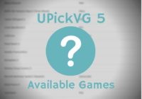 UPickVG 5 Available Games