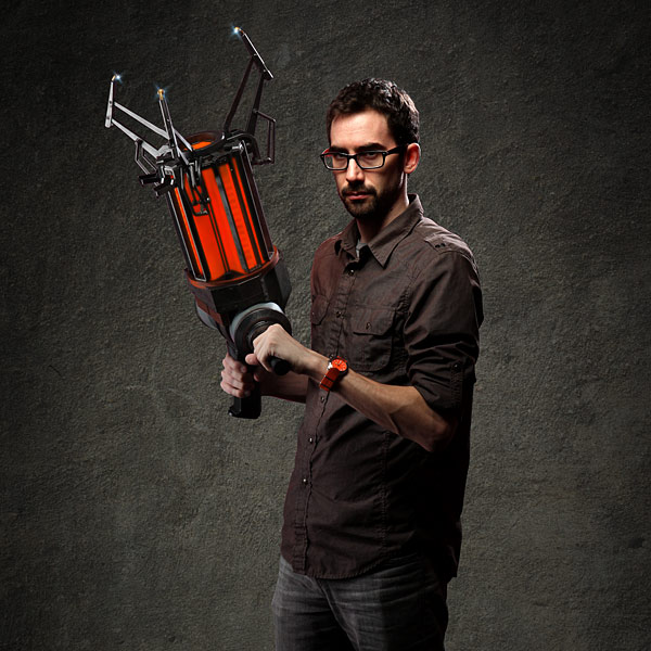Gravity Gun - Gordon Freeman Not Included