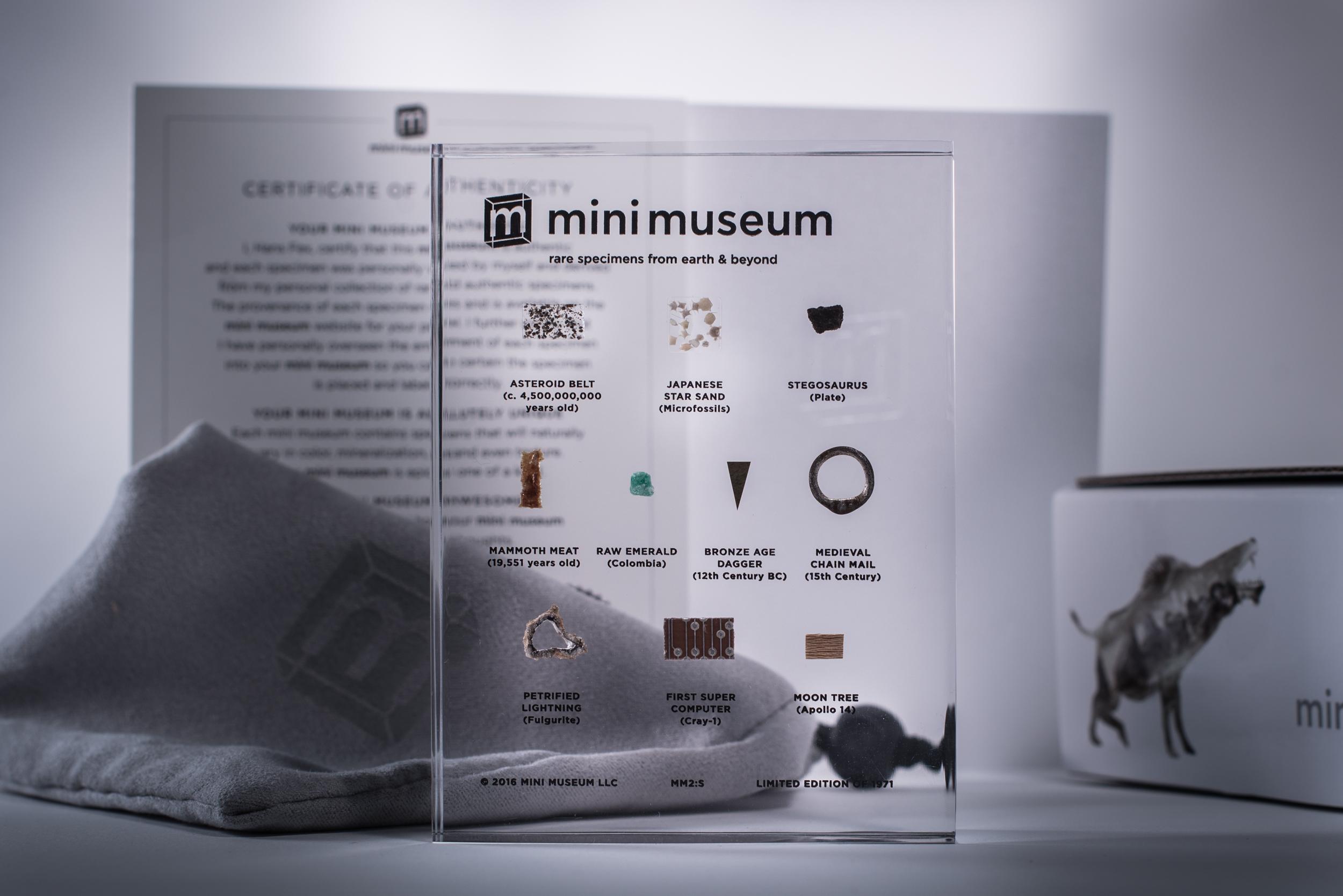 Mini Museum Second Edition, 10-Specimen Version, full package