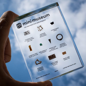 Mini Museum Second Edition, 10 Specimen Version against the sky